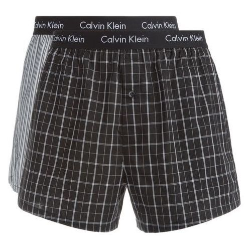 boxer shorts 2 piece czarny szary l, Calvin klein