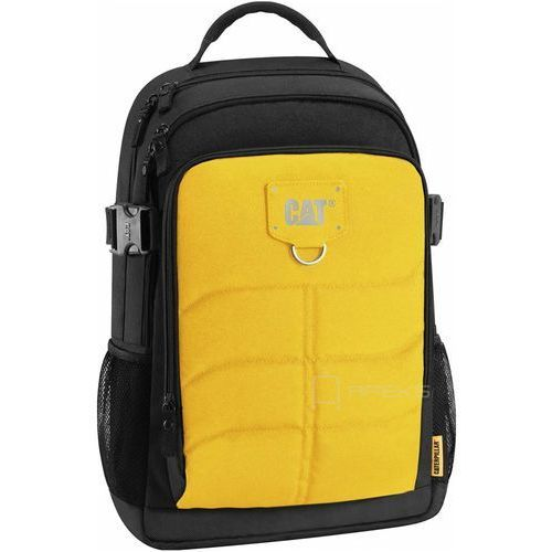 Caterpillar KENNETH plecak na laptop 15,6'' CAT / Black / Yellow - Black / Yellow (5711013045913)