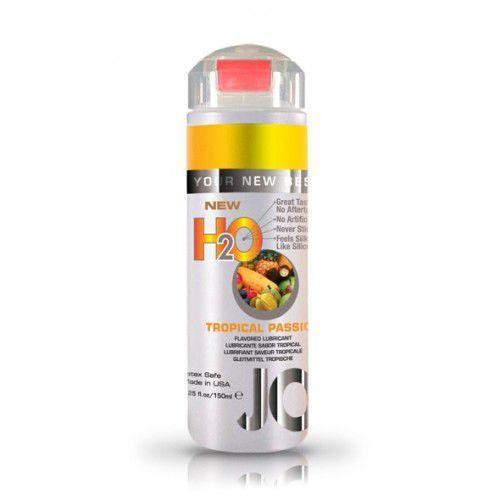 Lubrykant smakowy wodny -  h2o lubricant tropical 150 ml owoce tropikalne od producenta System jo