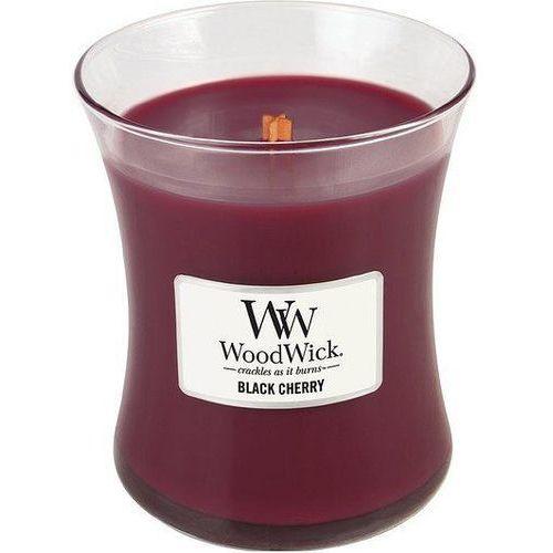 Woodwick Świeca core black cherry średnia