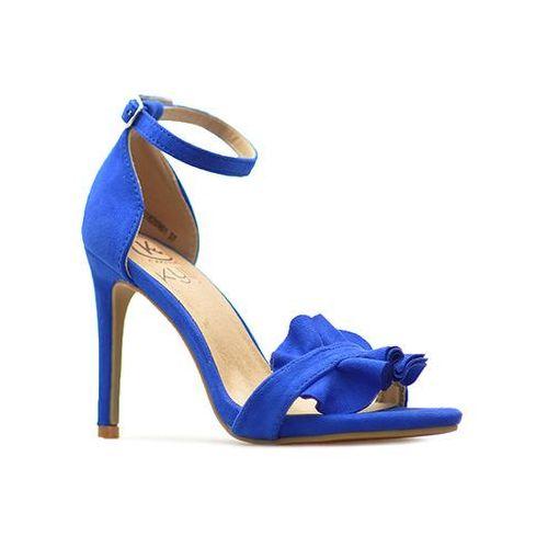 Sandały Kylie K1820901 AZUL Niebieskie, kolor niebieski