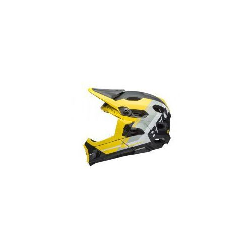 Kask full face super dh mips spherical yellow silver black roz. l (58–62 cm) marki Bell
