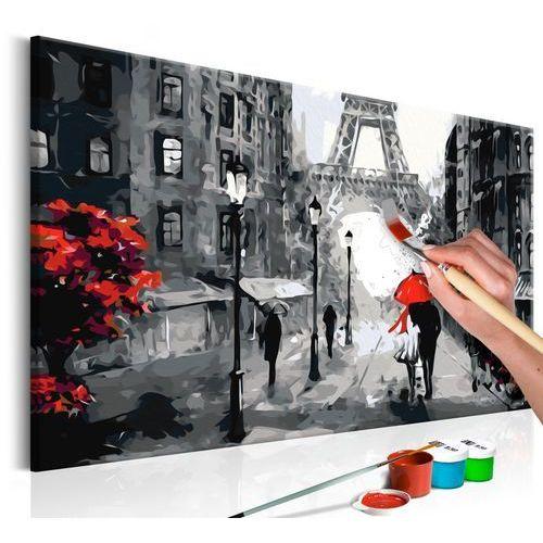Artgeist Obraz do samodzielnego malowania - zakochani w paryżu
