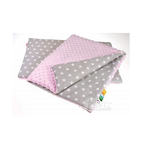 Wisan s.a. Comisie zestaw minky - różowo-szare gwiazdki taki jak na zdjęciu