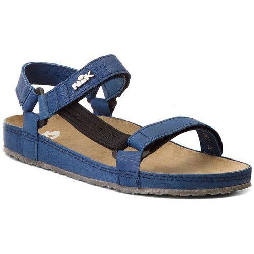Sandały NIK - 07-0090-41-9-09-03 Granatowy, w 6 rozmiarach