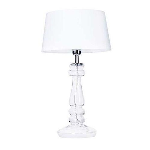 Zuma line Lampa stołowa lampka biurkowa petit trianon 1x60w e27 biały l051061217