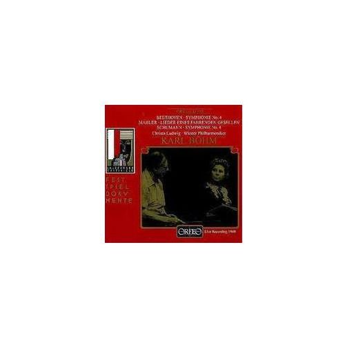 Beethoven L / Mahler G - Symf. 4 / Lieder / + Schumann, S. 4