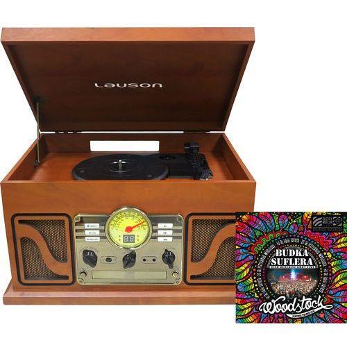 Lauson Gramofon retro cl 606 brązowy + płyta budka suflera + darmowy transport!