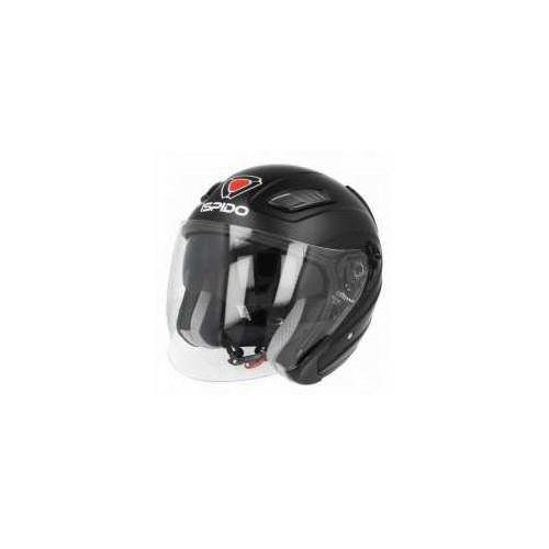 Kask motocyklowy aviator sv - blenda - czarny matt! marki Ispido