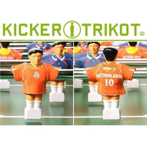 Komplet 11 koszulek reprezentacji państw dla postaci do piłkarzyków - Holandia