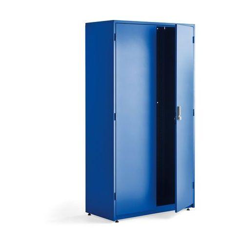 Szafa narzędziowa supply z zamkiem elektronicznym, 1900x1020x500 mm, niebieski marki Aj produkty