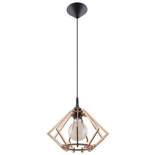 Sollux lighting Lampa wisząca pompelmo naturalne drewno marki model sl.0393 (5902622428925)