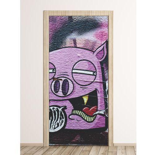 Fototapeta naklejka na drzwi graffiti fp 6320 marki Wally - piękno dekoracji