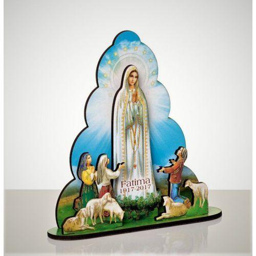 Drewniana figurka Matki Boskiej Fatimskiej, KU1203