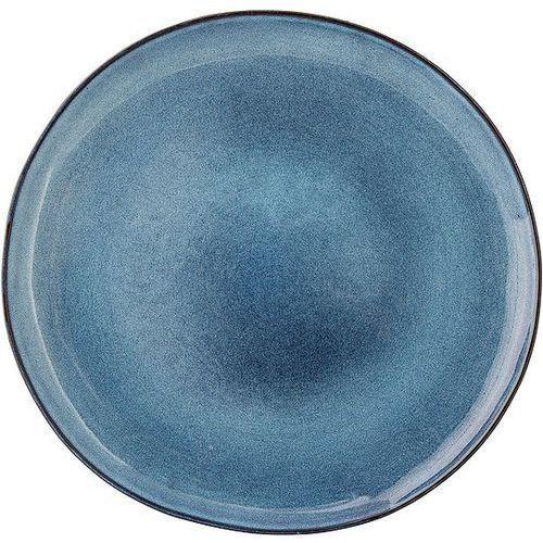 Talerz płaski Sandrine niebieski 28 cm, 17902757