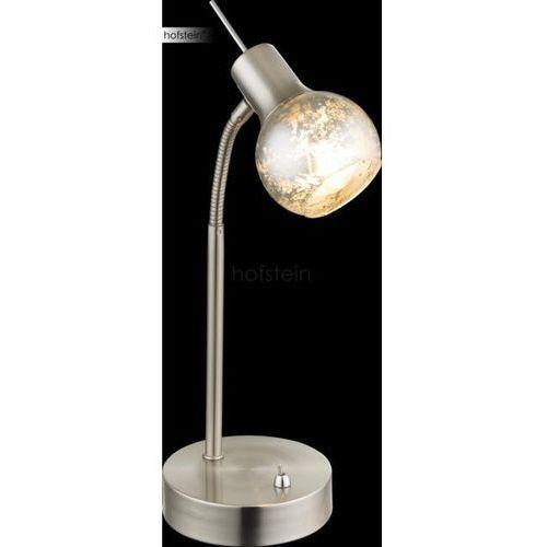 Globo zacate lampa stołowa nikiel matowy, 1-punktowy - nowoczesny - obszar wewnętrzny - zacate - czas dostawy: od 2-3 tygodni marki Globo lighting