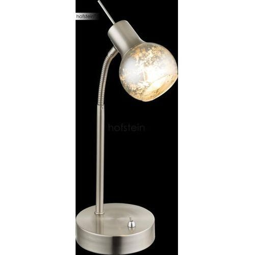 Globo zacate lampa stołowa nikiel matowy, 1-punktowy - podstawowy - obszar wewnętrzny - zacate - czas dostawy: od 6-10 dni roboczych marki Globo lighting
