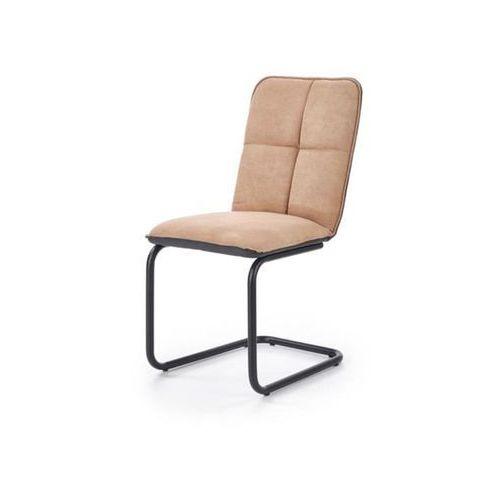 Dover i krzesło loftowe jasny brąz/czarny marki Style furniture