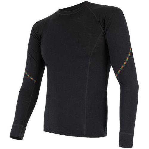 Sensor koszulka termoaktywna z długim rękawem merino air m black xl (8592837046235)