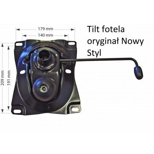 Nowy styl Tilt, mechanizm do fotela