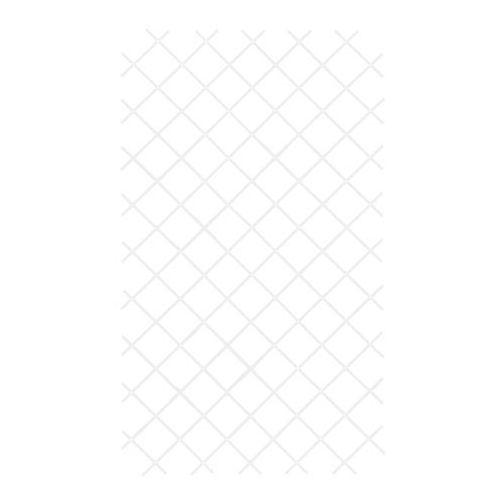 Kratka PVC rozkładana 100 x 200 cm biała (3663602430537)