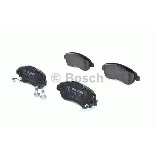 Bosch - zestaw klocków hamulcowych, hamulce tarczowe