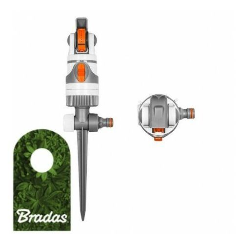 Zraszacz obrotowy 4-funkcyjny na kolcu white line wl-z01 5459 marki Bradas