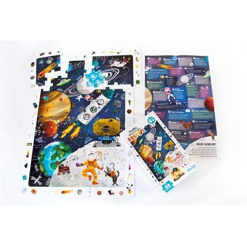 Czuczu puzzle obserwacyjne kosmos - bright junior media