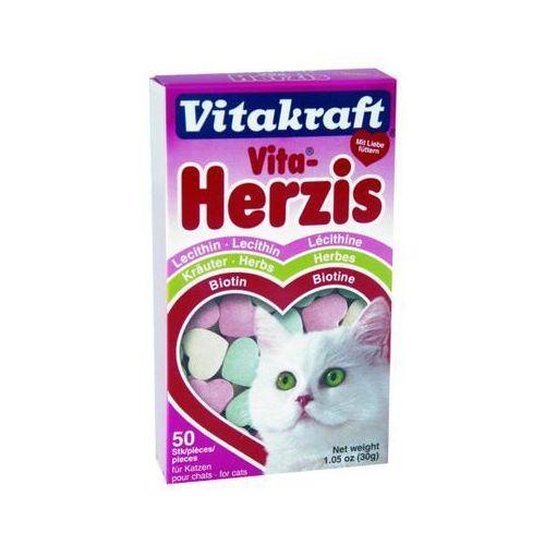 vita herzis - przysmak dla kota smak: serca 3 kolory marki Vitakraft