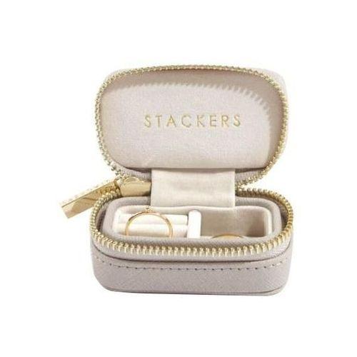Stackers Pudełko podróżne na biżuterię travel mini taupe