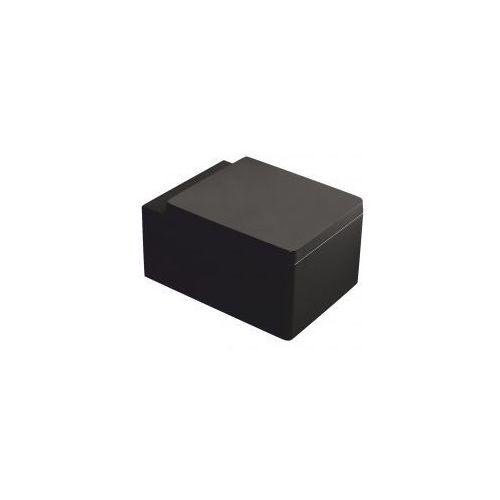 KERRA THOR26 Miska WC wisząca + deska duroplast wolnoopadająca, czarna