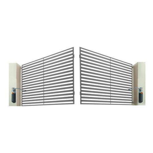 Polbram steel group Brama dwuskrzydłowa z automatem brava 400 x 150 cm (5901891478617)