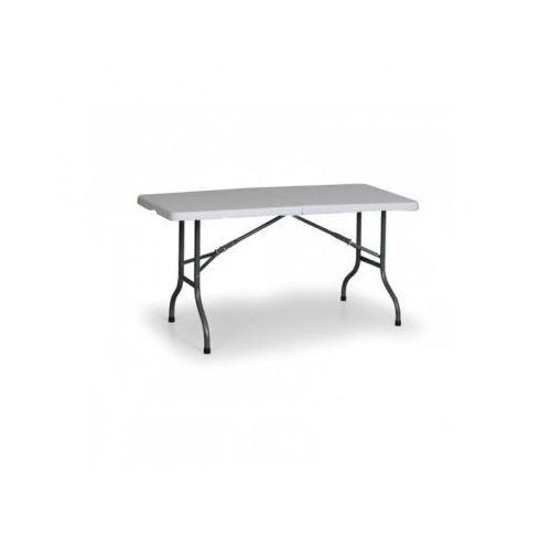 B2b partner Stół cateringowy 1830x760 mm, składany blat stołu