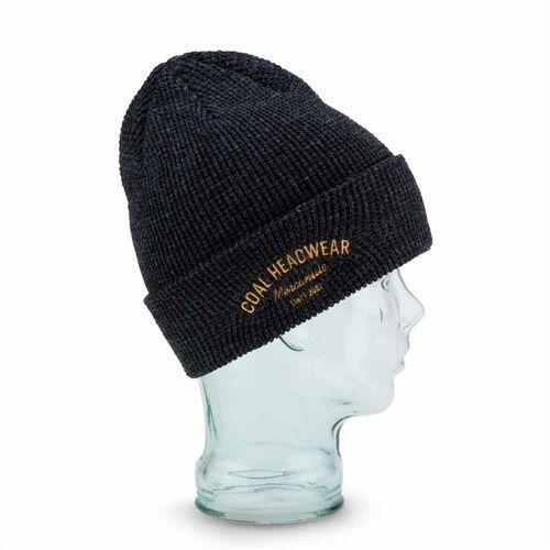 czapka zimowa COAL - The Yesler Beanie Heather Black (02) rozmiar: OS, kolor czarny