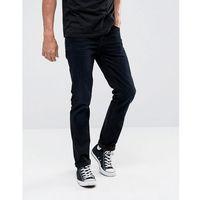 Nudie jeans co grim tim slim fit jean black sparkles wash - black