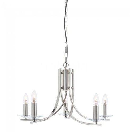 Searchlight Lampa wisząca ascona srebrny, 5-punktowe - antyk - obszar wewnętrzny - ascona - czas dostawy: od 10-14 dni roboczych