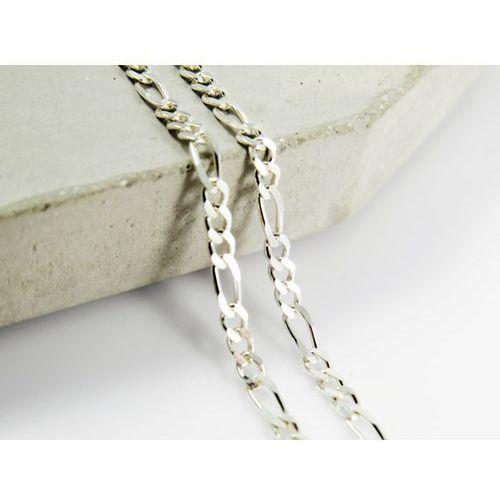 Megasilver Srebrny (925) łańcuszek figaro 50 cm