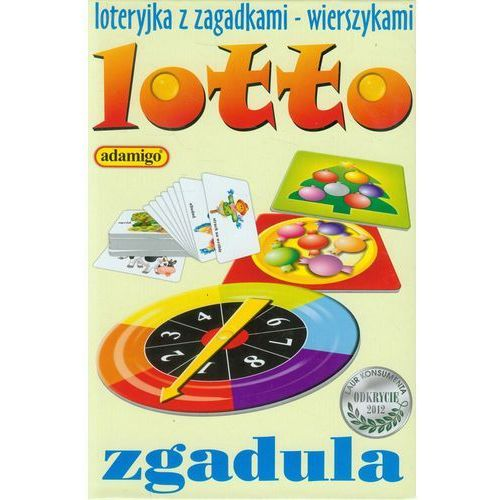 Adamigo, gra edukacyjna Lotto zgadula (5902410005086)