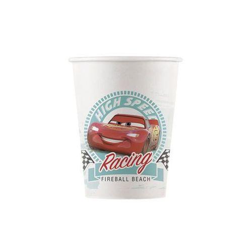 Eko kubeczki papierowe cars - 200 ml - 8 szt. marki Procos disney