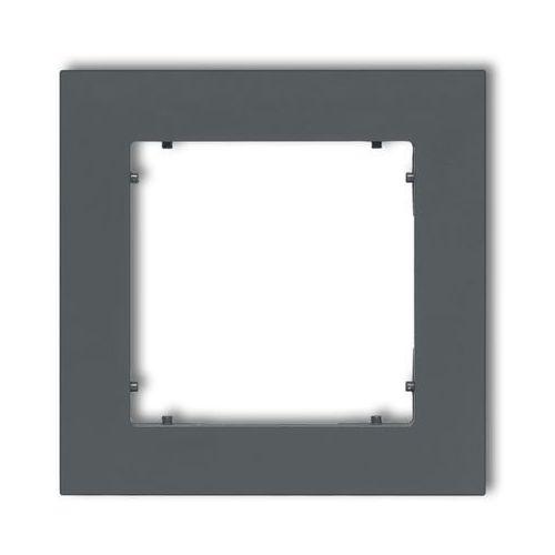 Karlik Ramka pojedyncza mini 28mr-1 grafitowy mat (5903268589223)