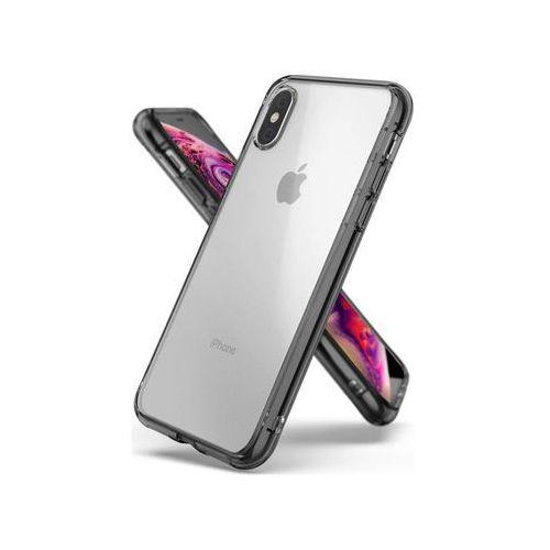 Etui Ringke Fusion do Apple iPhone XS Smoke Black - Czarny