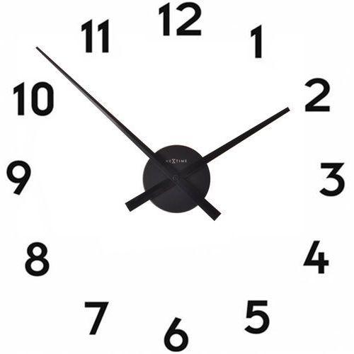 Nextime Zegar ścienny bez tarczy mini hands czarny (3074 zw) (8717713011132)