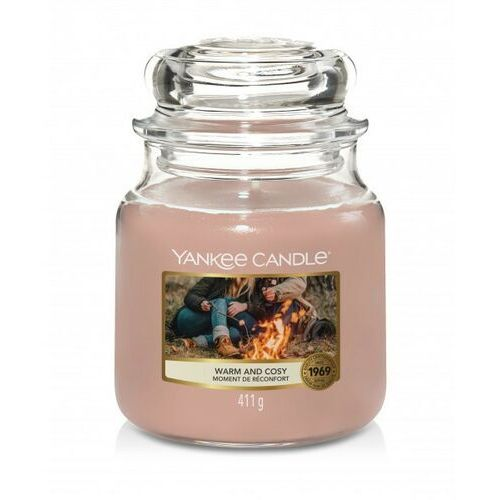 YANKEE CANDLE ŚWIECA WARM AND COSY 411G