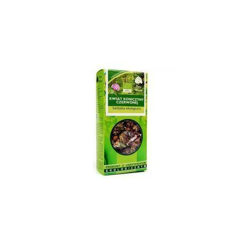 Herbatka kwiat koniczyny czerwonej bio 25 g dary natury marki Dary natury - herbatki bio