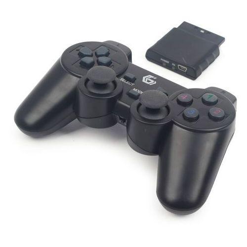 Gembird Gamepad gamepad gembird usb/pc/ps2/ps3 kabellos dualvibr. 10 tasten - jpd-wdv-01 darmowy odbiór w 19 miastach!