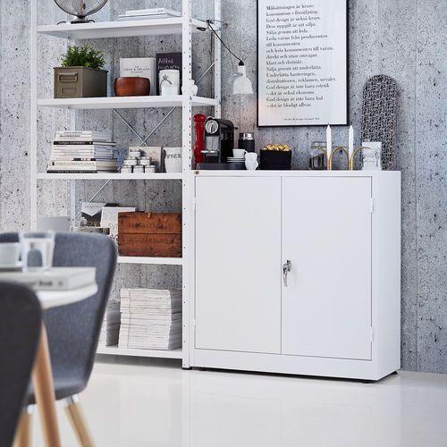 Array Szafa style 2 półki 1000x1000x400 mm biały biały
