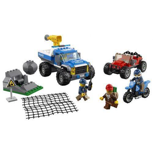 Lego CITY Pościg górską drogą dirt road pursuit 60172