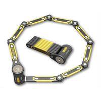Zapięcie rowerowe heavy duty link plate lock k9 składane 8113 - 79cm - 5 x klucze z kodem ong-8113 ss16 marki Onguard