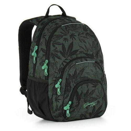 Plecak młodzieżowy Topgal HIT 895 E - Green, kolor zielony