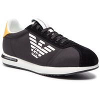 Sneakersy EMPORIO ARMANI - X4X260 XL710 A083 Black/Black/Sun